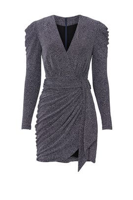 Gunmetal Glitter Dress by Jonathan Simkhai