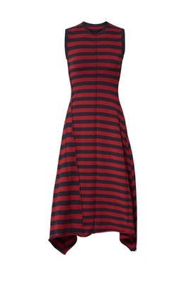 Rosewood Knit Dress by Jason Wu