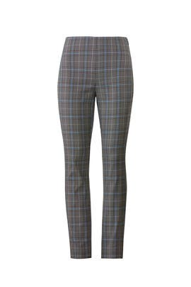 Plaid Simone Pant by rag & bone