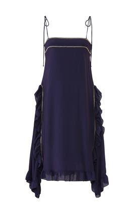 Blue Ruffle Shift by See by Chloe