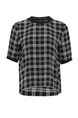 Plaid Woven Top by Slate & Willow