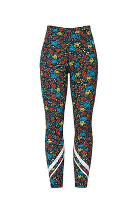 Floral Print Leggings by Tory Sport