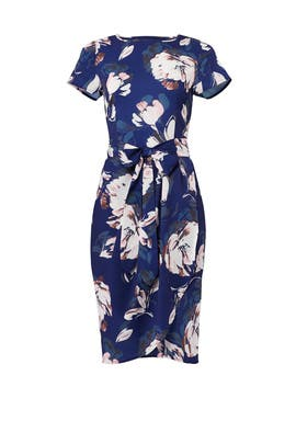 Navy Floral Mix and Mingle Dress by Yumi Kim