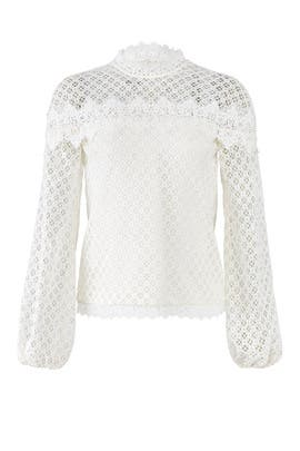White Florence Top by AMUR