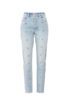 20e1aa0f30a Embroidery Beatrice Jeans by La Vie Rebecca Taylor