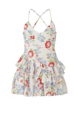 Cherry Skies Marion Dress by LoveShackFancy
