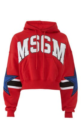 MSGM Star Sweatshirt by MSGM