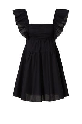 Flutter Sleeve Babydoll Dress by Peter Som Collective
