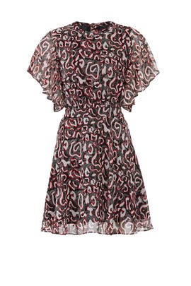 Printed Tasha Dress by Rebecca Minkoff