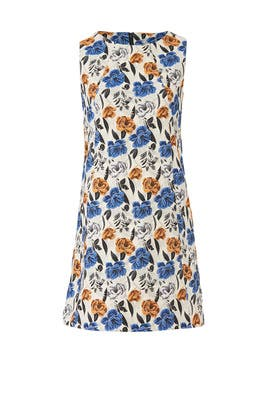 Floral Jacquard Shift by Slate & Willow