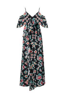 Printed Loreda Dress by Tanya Taylor