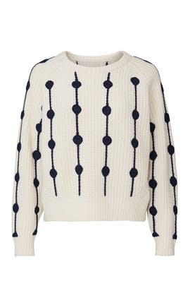 Merino Wool Dot Sweater by Tory Sport