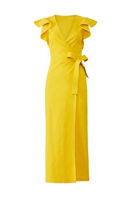 Yellow Walker Dress by A.L.C.