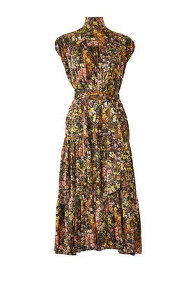 Floral Tiered Dress by Co