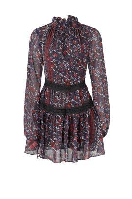 Ditsy Floral Mini Dress by Nicholas