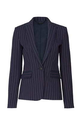 Navy Stripe Lexington Blazer by rag & bone