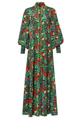 Hiroka Robe Dress by Alexis