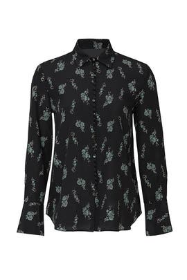 Helek Ditsy Flower Blouse by Club Monaco