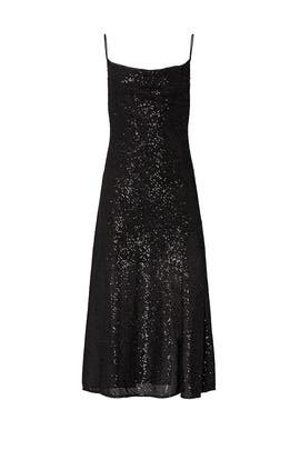 Sequin Cowl Neck Slip Dress by Jonathan Simkhai