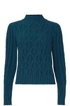 Cable Turtleneck by La Vie Rebecca Taylor