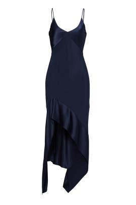Midnight Split Hem Gown by Narciso Rodriguez