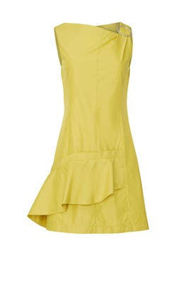 Gathered Ring Ruffle Dress by 3.1 Phillip Lim