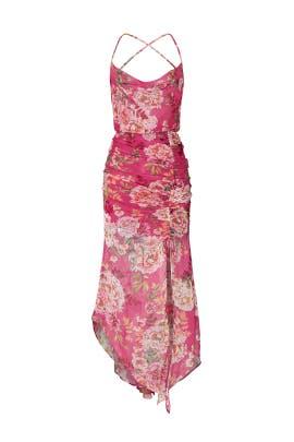 Freida Silk Dress by Sau Lee