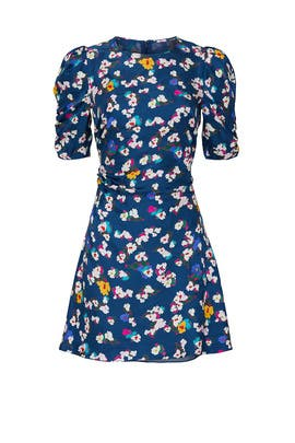 Liz Silk Floral Dress by Tanya Taylor