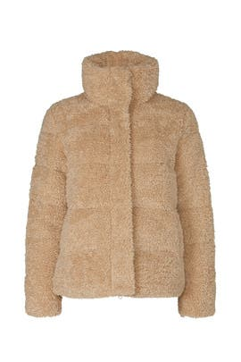 Golden Years Faux Shearling Jacket by Unreal Fur