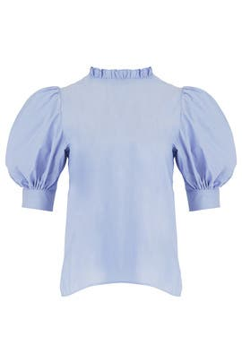 Sky Blue Stella Top by Hunter Bell