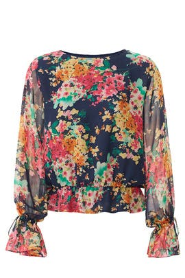 Floral Linden Blouse by Jay Godfrey