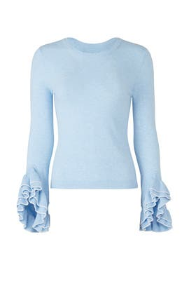 Baby Blue Sweater by Milly