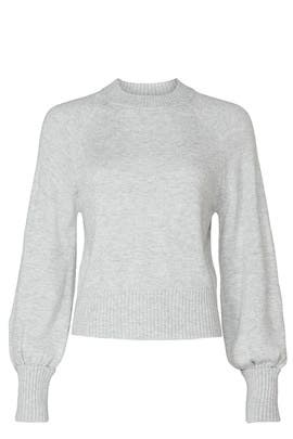 Grey Pullover Sweater by Marissa Webb Collective