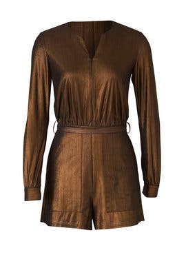 Bronzed Romper by Ali & Jay