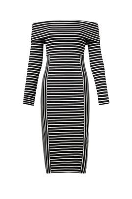 Striped Sheath Dress By Derek Lam 10 Crosby