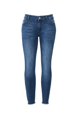 Blue Stranded Florence Jeans by DL1961