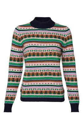 Kris All Over Fair Isle Sweater by J.Crew