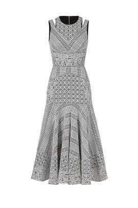 094554a1ce956 J. Mendel. Read Reviews. White Lace Midi Dress