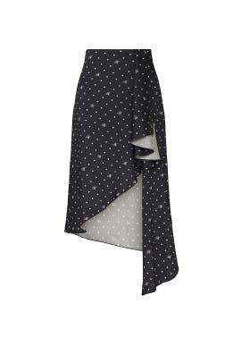 M Dot Cascade Slip Skirt by MONSE