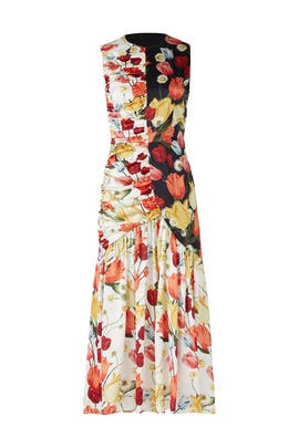 Dutch Tulips Dress by Mother of Pearl