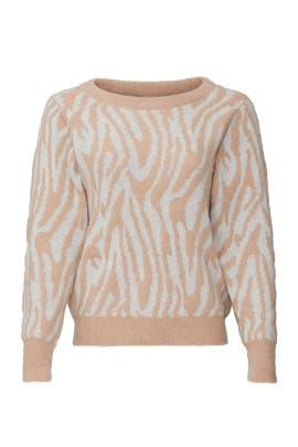 Tiger Stripe Sweater by Rebecca Taylor
