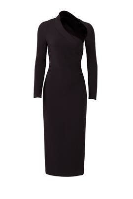 Black Stella Dress by Cushnie