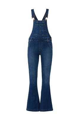 Carly Flare Overalls by Free People