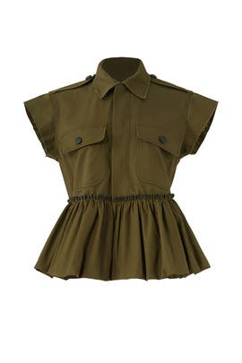Olive Drab Field Jacket by Harvey Faircloth