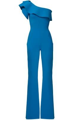 Blue Raviva Jumpsuit by La Petite Robe di Chiara Boni