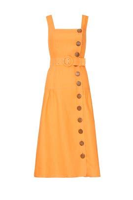 Button Pinafore Dress by Nicholas