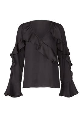 Ruffle Spiral Top by Parker
