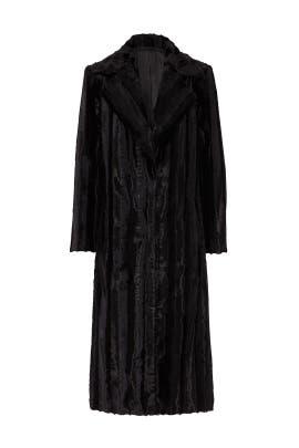 Velvet Underground Faux Fur Coat by Unreal Fur