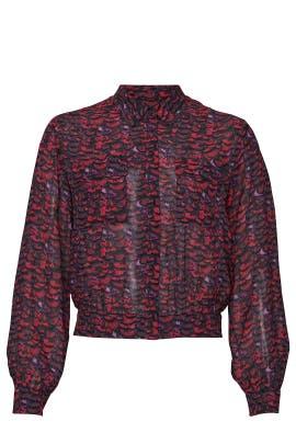 Adeliza Plume Shirt by AllSaints