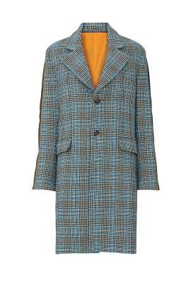 Check Tailor Coat by Koché